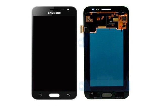 Фирменный LCD-ЖК-сенсорный дисплей-экран-стекло с тачскрином на телефон Samsung Galaxy J3 (2016) SM-J320F/DS/J320H/DS черный + гарантия
