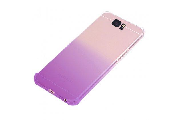 Фирменная ультра-тонкая полимерная задняя панель-чехол-накладка из силикона для Samsung Galaxy J3 Prime SM-J330F/Samsung Galaxy J3 (2017) SM-J330F прозрачная с эффектом грозы