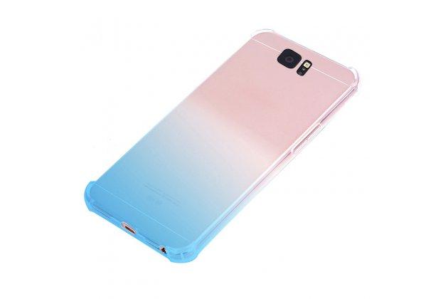 Фирменная ультра-тонкая полимерная задняя панель-чехол-накладка из силикона для Samsung Galaxy J3 Prime SM-J330F/Samsung Galaxy J3 (2017) SM-J330F прозрачная с эффектом дождя