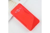 Фирменная ультра-тонкая полимерная из мягкого качественного силикона задняя панель-чехол-накладка для Samsung Galaxy J3 Prime SM-J330F/Samsung Galaxy J3 (2017) SM-J330F красная