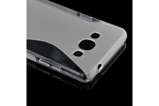 Фирменная ультра-тонкая полимерная из мягкого качественного силикона задняя панель-чехол-накладка для Samsung Galaxy J3 Prime SM-J330F/Samsung Galaxy J3 (2017) SM-J330F серая