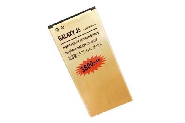 Фирменная аккумуляторная батарея 3800mAh 3.85v на телефон Samsung Galaxy J5 2016 SM-J510H/DS/ J510F/DS + инструменты для вскрытия + гарантия