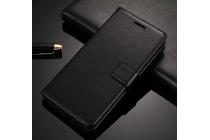 Фирменный чехол-книжка из качественной импортной кожи с мульти-подставкой застёжкой и визитницей для Samsung Galaxy J5 Prime/ Samsung Galaxy On5 2016 черный