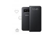 Чехол-книжка LED View Cover для Samsung Galaxy S8 SM-G9500 черный
