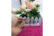 Фирменная ультра-тонкая полимерная из мягкого качественного силикона задняя панель-чехол-накладка для Samsung Galaxy S8 SM-G9500 прозрачная