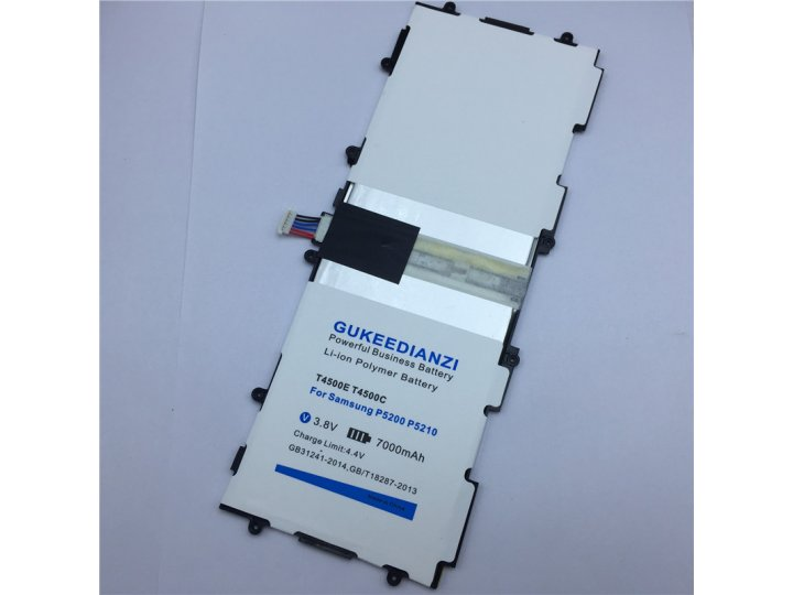 Усиленная батарея-аккумулятор большой повышенной ёмкости 7000 mAh для планшета Samsung Galaxy Tab 3 10.1 GT-P5..