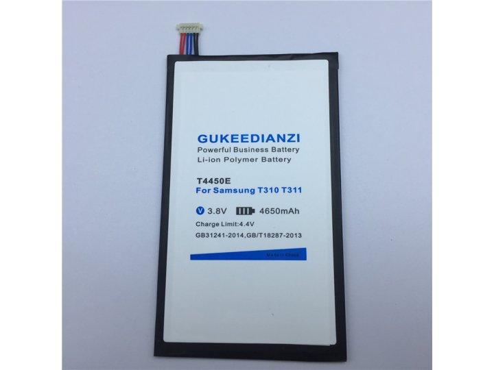 Усиленная батарея-аккумулятор большой повышенной ёмкости 4650 mAh для телефона Samsung Galaxy tab 3 8.0 SM T31..