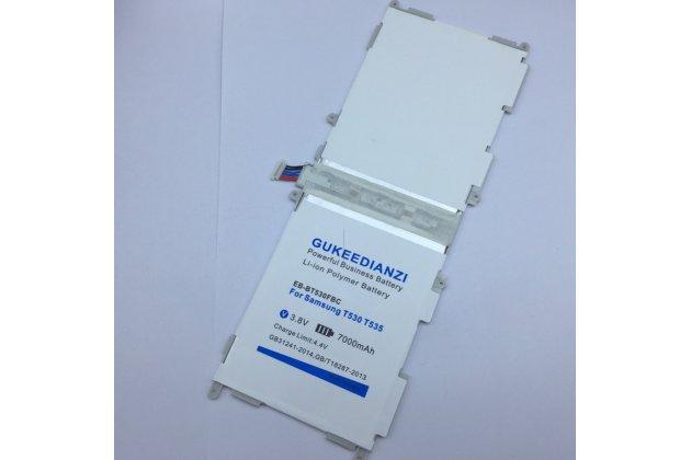Усиленная батарея-аккумулятор большой повышенной ёмкости 7000 mAh для планшета Samsung Galaxy Tab 4 10.1 SM-T530/T531/T535/T533 + гарантия
