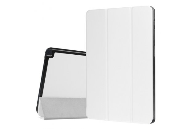Фирменный умный чехол самый тонкий в мире для Samsung Galaxy Tab A 10.1 2016 SM-P580/P585 S-Pen iL Sottile белый пластиковый Италия