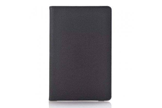 Чехол для планшета Samsung Galaxy Tab A 10.1 2016 SM-P580/P585 S-Pen поворотный роторный оборотный черный кожаный