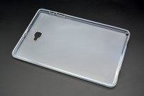 Фирменная ультра-тонкая полимерная из мягкого качественного силикона задняя панель-чехол-накладка для Samsung Galaxy Tab A 10.1 2016 SM-P580/P585 S-Pen белая