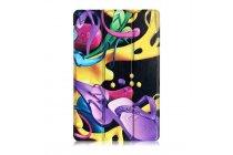 Фирменный необычный чехол для Samsung Galaxy Tab A 10.1 2016 SM-P580/P585 S-Pen тематика Краски