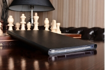 Чехол с логотипом для Samsung Galaxy Tab A 10.1 2016 SM-T580 / T585C / T585N с дизайном  Book Cover черный