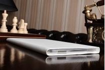 Чехол с логотипом для Samsung Galaxy Tab A 10.1 2016 SM-T580 / T585C / T585N с дизайном  Book Cover белый