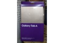 Чехол с логотипом для Samsung Galaxy Tab A 10.1 2016 SM-T580 / T585C / T585N с дизайном  Book Cover золотой