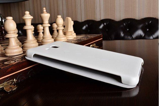 Чехол с логотипом для Samsung Galaxy Tab A 2016 7.0 SM-T285/ T280 / T280N / T288 / T285C с дизайном  Book Cover белый