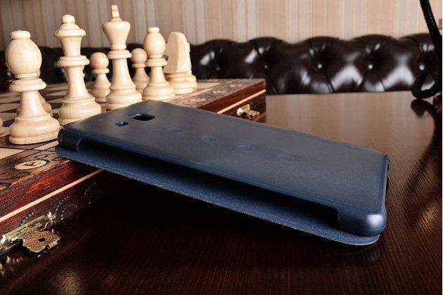 Чехол с логотипом для Samsung Galaxy Tab A 2016 7.0 SM-T285/ T280 / T280N / T288 / T285C с дизайном  Book Cover синий