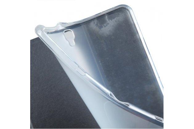 Фирменный чехол-обложка для Samsung Galaxy Tab S3 9.7 SM-T820/T825 черный из настоящей джинсы