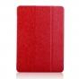 Тонкий легкий фирменный чехол-обложка для Samsung Galaxy Tab S3 9.7 SM-T820/T825 красный пластиковый..