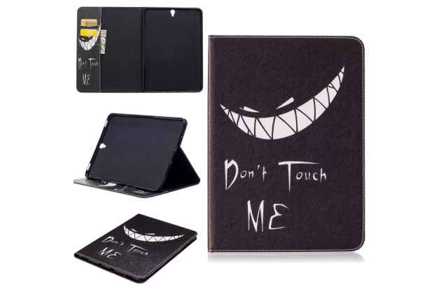 "Фирменный необычный чехол для Samsung Galaxy Tab S3 9.7 SM-T820/T825 ""тематика Don't Touch ME"""