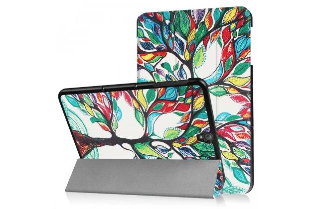 """Фирменный необычный чехол для  Samsung Galaxy Tab S3 9.7 SM-T820/T825 """"тематика книга Сказочное Дерево"""""""