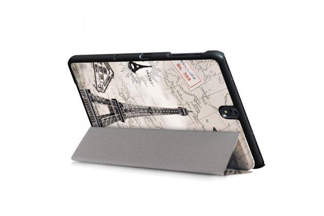 "Фирменный необычный чехол для Samsung Galaxy Tab S3 9.7 SM-T820/T825 ""тематика Париж"""