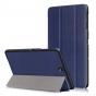 Фирменный умный чехол самый тонкий в мире для Samsung Galaxy Tab S3 9.7 SM-T820/T825 iL Sottile синего цвета к..