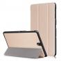 Фирменный умный чехол самый тонкий в мире для Samsung Galaxy Tab S3 9.7 SM-T820/T825 iL Sottile золотого цвета..