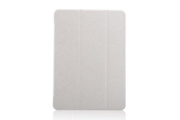 Тонкий легкий фирменный чехол-обложка для Samsung Galaxy Tab S3 9.7 SM-T820/T825 белый пластиковый