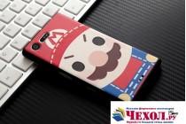 """Фирменная роскошная задняя панель-чехол-накладка  из мягкого силикона с безумно красивым расписным 3D рисунком на Sony Xperia X Compact 4.6 ( F5321/ F5321RU) """"тематика Марио"""""""