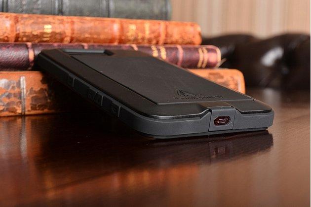 """Неубиваемый водостойкий противоударный водонепроницаемый грязестойкий влагозащитный ударопрочный фирменный чехол-бампер для Sony Xperia X Compact 4.6"""" ( F5321/ F5321RU) цельно-металлический со стеклом Gorilla Glass черный"""