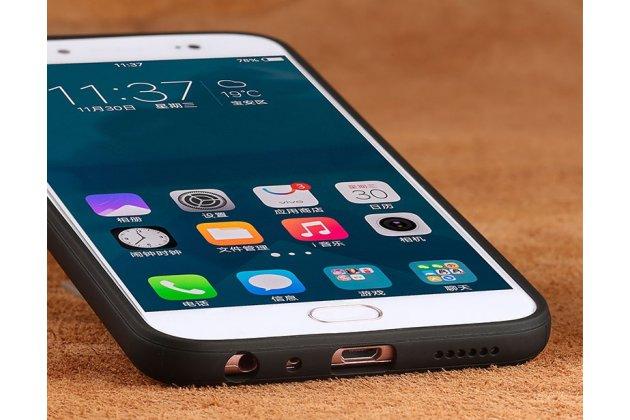 """Фирменная ультра-тонкая полимерная из мягкого качественного силикона задняя панель-чехол-накладка для Sony Xperia X / X Dual 5.0"""" (F5121 / F5122) в клетку белая"""
