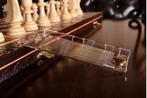 Фирменная задняя панель-крышка-накладка из тончайшего и прочного пластика для Sony Xperia XZ/ XZs/ XZ Dual 5.2 (F8331 / F8332) прозрачная