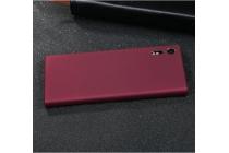 Фирменная задняя панель-крышка-накладка из тончайшего и прочного пластика для Sony Xperia XZ/XZs/ XZ Dual 5.2 (F8331 / F8332) красная