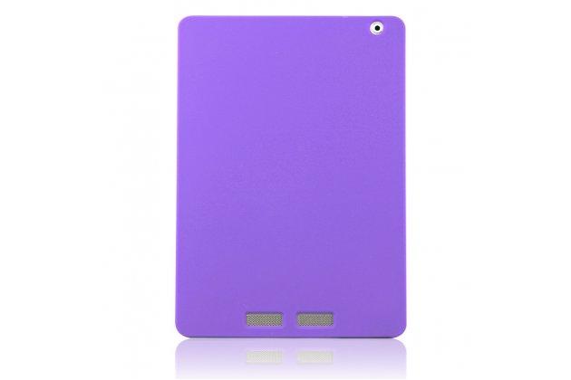 Фирменная ультра-тонкая полимерная из мягкого качественного силикона задняя панель-чехол-накладка для Teclast P98 4G Octa Core фиолетовая