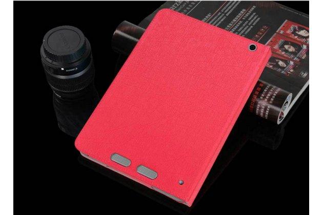 Фирменный чехол-футляр-книжка для Teclast P98 4G Octa Core красный кожаный