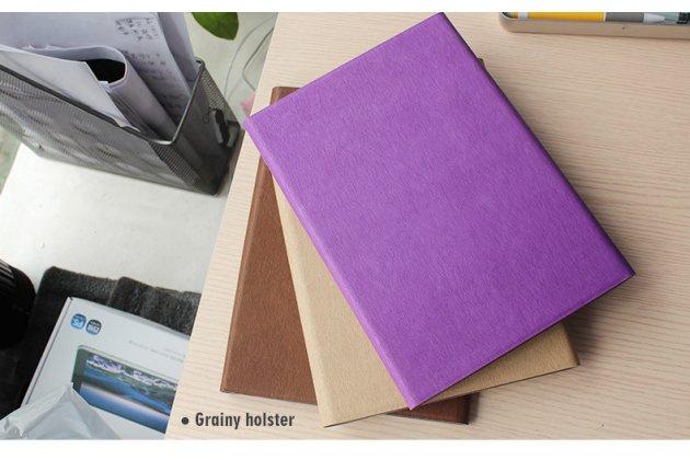 Фирменный оригинальный чехол со съёмной Bluetooth-клавиатурой для Teclast P98 4G Octa Core фиолетовый кожаный + гарантия