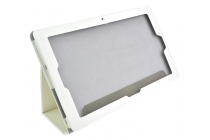 Фирменный чехол-обложка с подставкой для Teclast Tbook 16 Power / 16s белый кожаный