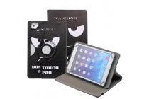 Чехол для планшета Teclast X89 Kindow поворотный роторный оборотный Тематика Dont touch my pad.кожаный