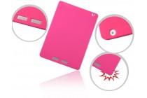 Фирменная ультра-тонкая полимерная из мягкого качественного силикона задняя панель-чехол-накладка для Teclast X98 Air III/Teclast X98 Plus розовая