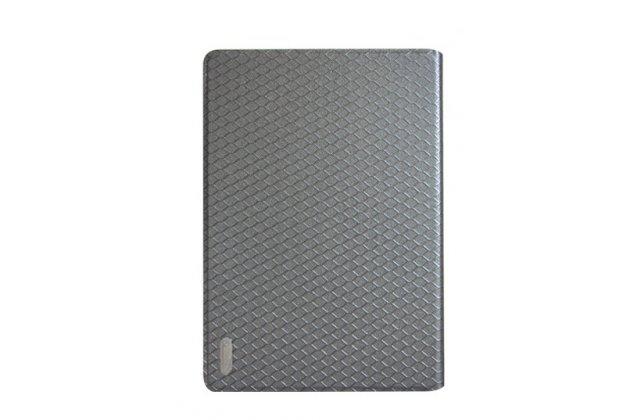 Фирменный чехол-футляр-книжка для Teclast X98 Air III/Teclast X98 Plus черный кожаный
