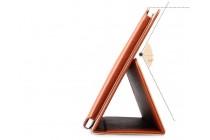 Фирменный чехол-обложка с подставкой для Teclast X98 Air III/Teclast X98 Plus коричневый кожаный