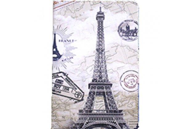 Фирменный уникальный необычный чехол-книжка для Teclast X98 Air III/Teclast X98 Plus тематика  Париж