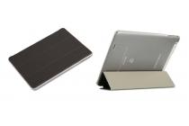 Фирменный умный чехол самый тонкий в мире для Teclast X98 Plus 2 (II) iL Sottile черный пластиковый Италия