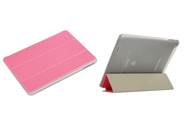 Фирменный умный чехол самый тонкий в мире для Teclast X98 Plus 2 (II) iL Sottile розовый пластиковый Италия
