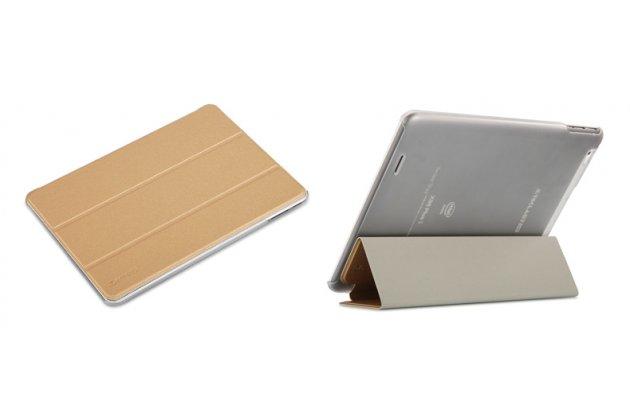 Фирменный умный чехол самый тонкий в мире для Teclast X98 Plus 2 (II) iL Sottile золотой пластиковый Италия