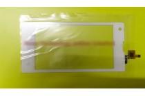 Фирменное сенсорное стекло-тачскрин на Теле2 Миди/Tele2 Midi белый и инструменты для вскрытия + гарантия