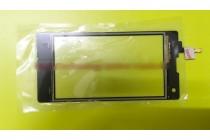 Фирменное сенсорное стекло-тачскрин на Теле2 Миди/Tele2 Midi черный и инструменты для вскрытия + гарантия