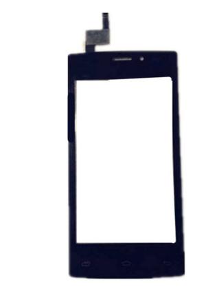 Фирменный LCD-ЖК-сенсорный дисплей-экран-стекло с тачскрином на телефон Теле2 мини/ Tele2 Mini черный + гарантия