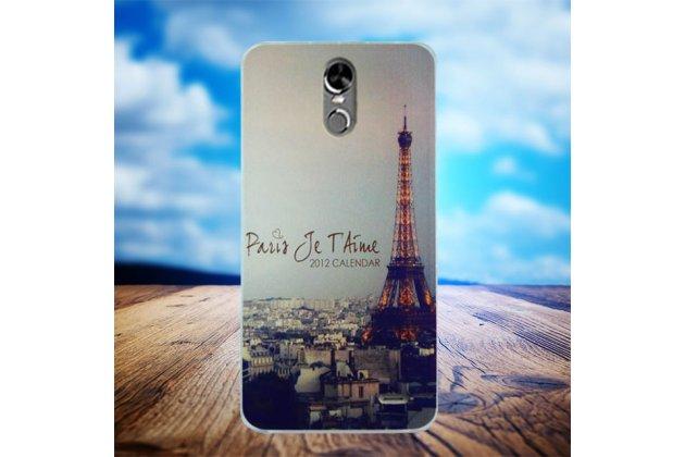 Фирменная роскошная задняя панель-чехол-накладка с безумно красивым расписным рисунком на Ulefone Tiger с безумно красивым рисунком тематика Париж